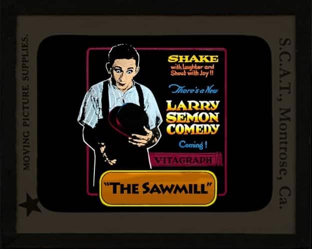 larry-semon-sawmill-framed