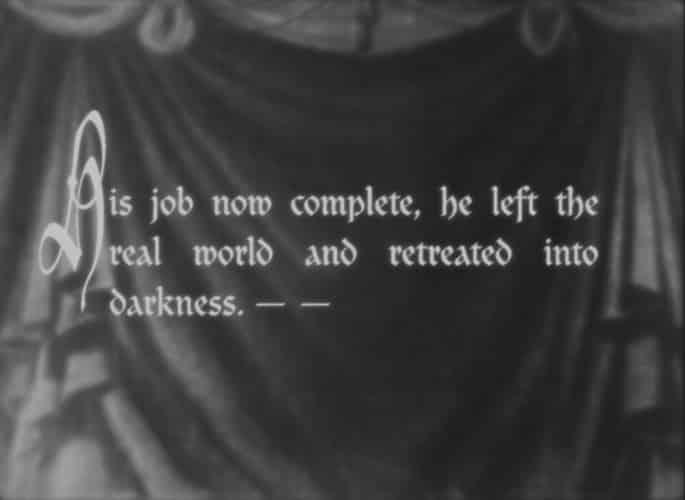 Silent movie titles - Desimone Design